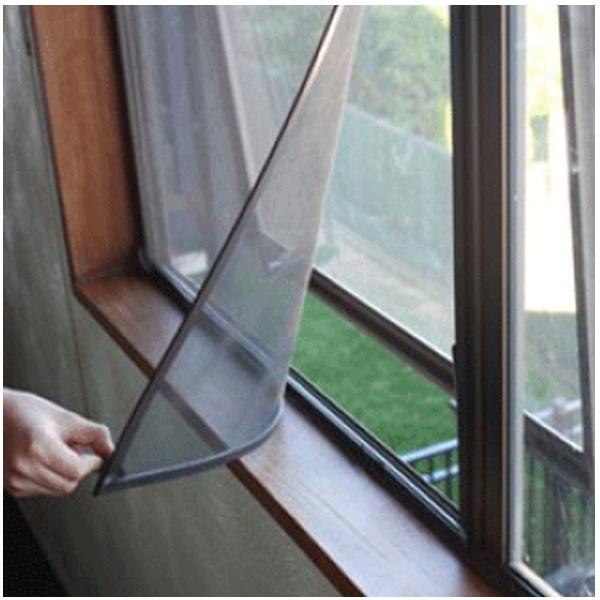 Invisible Screen Doors Seasonguard 40 In X 97 5 In